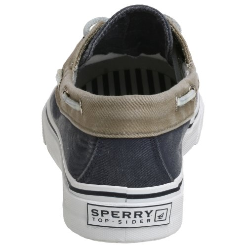 Sperry Bahama 2 Eye Mens, Navy/Khaki, 42 EUR, D