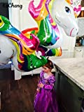 FindFun 33'' Unicorn Foil Balloon Animal Horse Decor for Birthday Baby Shower Party Wdding Child Toys