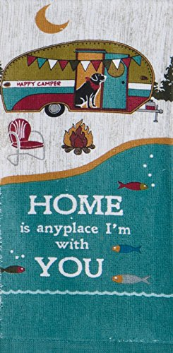 Home Is Anyplace I'm with You Terry Towel made our CampingForFoodies hand-selected list of 100+ Camping Stocking Stuffers For RV And Tent Campers!