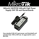 Mikrotik 24HPOW High power 24V 1.6A Power Supply + power plug