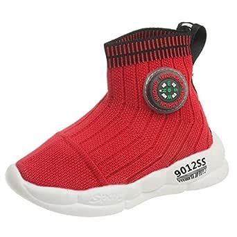 iubebe ZOREFINE Calcetines Zapatos para Niños y Niñas Volando ...