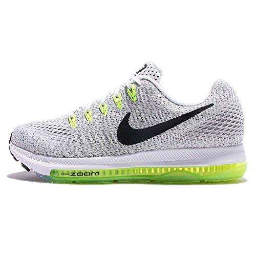 Nike Womens Zoom All Out Scarpe Da Corsa Basse Blanco / Black-volt