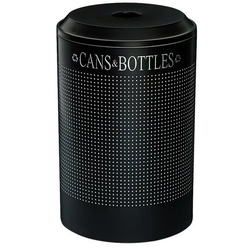 Recycling Container, 26 gal, Black ()