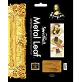 Speedball Art Products Mona Lisa Composition Gold Leaf, 25 Sheet Pack
