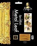 Speedball Mona Lisa Composition Gold Leaf, 25 Sheet Pack