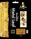 Speedball Mona Lisa Composition Gold Leaf, 25 Sheet Pack