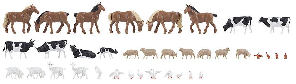Faller 150938 36 Tiere auf dem Bauernhof H0 1 87 B074PTHJ9F Figuren Neuer Stil | Ermäßigung