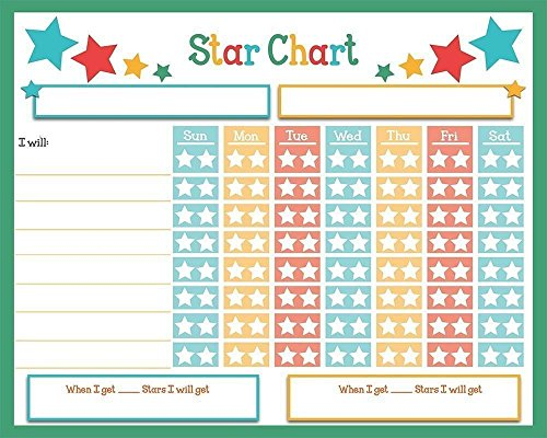 dry erase reward chore chart 16 x 13 multiple