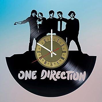 Amazon.com: One Direction adorno discos de vinilo reloj de ...