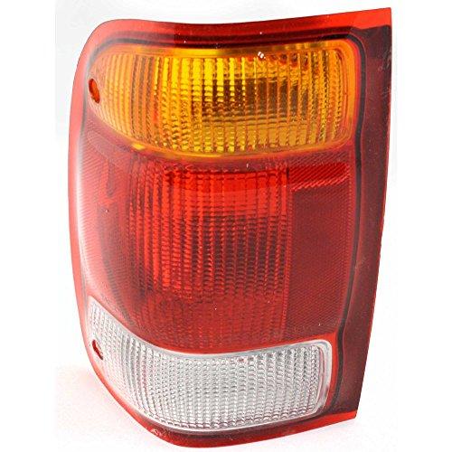 Tail Light for Ford Ranger 98-99 Lens and Housing Left Side