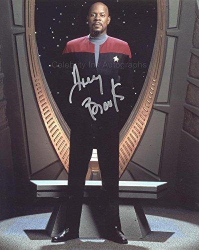 AVERY BROOKS as Captain Benjamin Sisko - Star Trek: Deep Space Nine GENUINE AUTOGRAPH