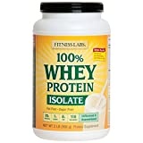 100% Whey Protein Isolate Unflavored & Unsweetened 2 Lb