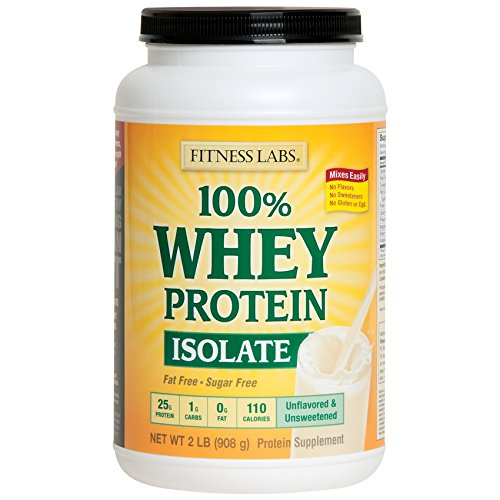 100% Whey Protein Isolate Unfl...