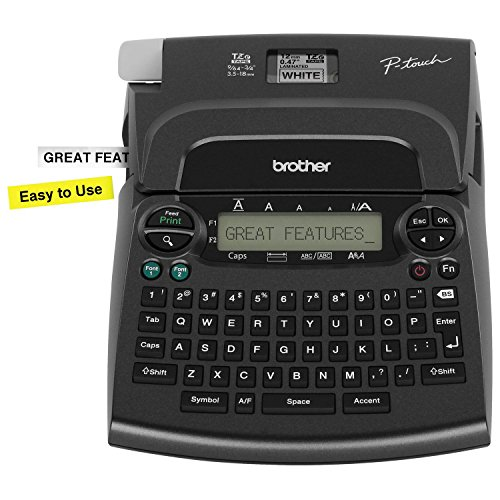 Brother P-Touch PT-1890SC Deluxe Home & Office Labeler