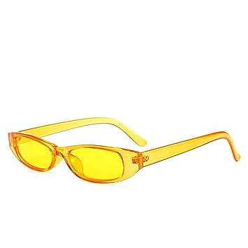 Amazon.com: CFBD Gafas de sol rectangulares para mujer ...