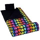 sleeping bag - Rainbow Hearts Original Sleeping Bag