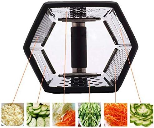 Rallador de queso DK Sensible para cocina, de acero inoxidable, 6 ...