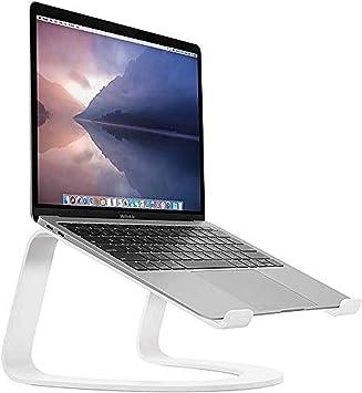 Twelve South Curve - Soporte de Aluminio para Apple MacBook y Ordenadores portátiles - Blanco (Edición Especial)