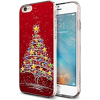 protective iphone 6 and 6s case 47 inch red christmas tree