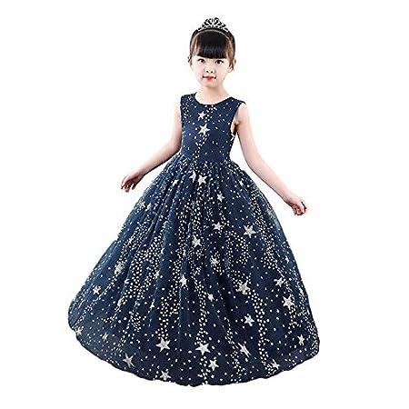 YiWu Vestido de Noche de Verano para niños Falda Falda Larga Nuevo ...