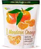 Dried Mandarin Oranges Paradise Green 24oz Sweet Dehydrated Mandarin Orange Sun Dried In Nature, Vegan (Kosher Certified), Dairy Free, 1.5 LBS