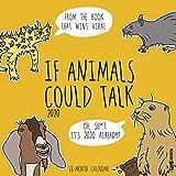 If Animals Could Talk 2020 Wall Calendar