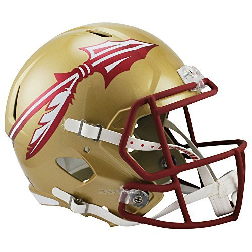 Florida State Seminoles Officially Licensed NCAA Speed Full Size Replica Football Helmet by Riddell