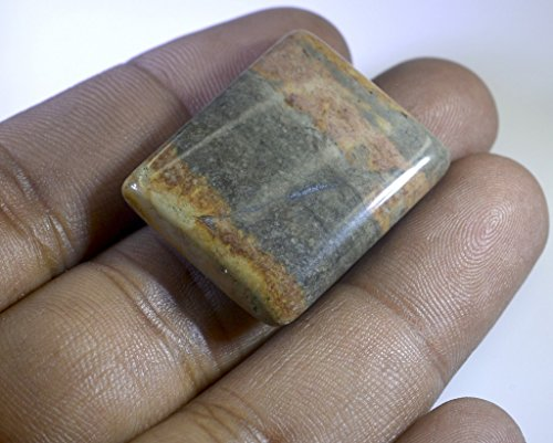 Willow Creek jaspe pierre lâche coupé emaral cabochon 1 pc 23x28 mm stwcricj-500013