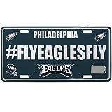 Siskiyou NFL Philadelphia Eagles Hashtag License Plate