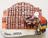 Hawa Mahal Jaipur Pink City INDIA Resin 3D fridge Refrigerator Thai Magnet Hand Made Craft. by Thai MCnets