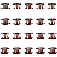 Alambre esmaltado de cobre de 0,1 mm, 20