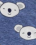 Carter's Baby Boys' Koala 2-Way Zipper Footed