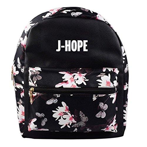 Hommes Femmes d'Ecole BTS à et J Kpop Sac Etudiant Dos Sac HOPE FnX6qzwAq