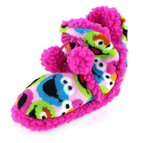 Sesame Street Cookie Monster Slippers