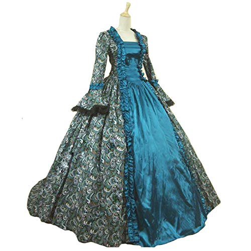 Colonial Georgian Penny Dreadful Victorian Dress Gothic Period Ball Gown Reenactment Theater Costume - http://coolthings.us