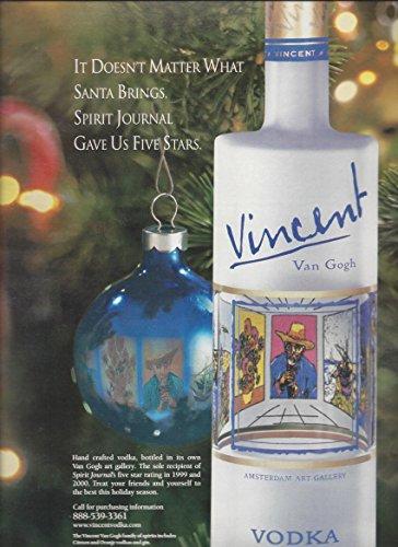 print-ad-for-vincent-van-gogh-vodka-christmas-tree-scene-print-ad