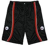 Philadelphia 76ers NBA Men's Zipway Black Mesh Shorts (3X-Large Tall, Black)