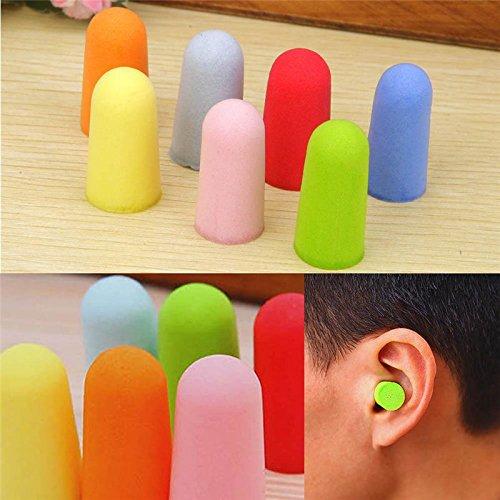 ideali per dormire lavorare o studiare 6/paia di tappi per le orecchie in gommapiuma isolano dal rumore Bigboba riutilizzabili