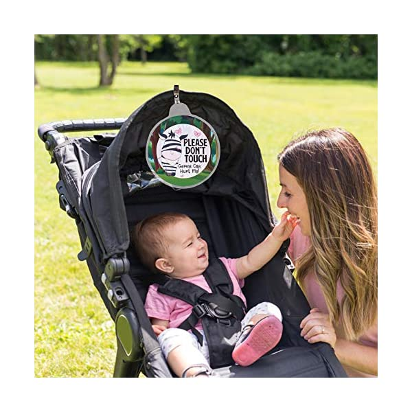 Stroller tag Newborn no Baby car seat tag Baby Safety Sign Baby Shower Gift