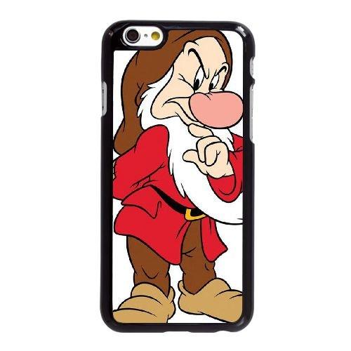 Disney Schneewittchen und die sieben Zwerge Character Grumpy 001 iPhone 6 6S plus 5,5 Zoll-Handy-Fall Hülle schwarz C2L2NMVDBD
