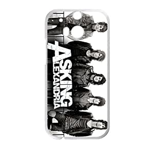 ASKING LEXANDRIA Phone Case for HTC One M8 by Maris's Diary