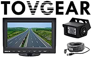 "Amazon.com: TovGear 7"" Inch Rear View Backup Camera System"
