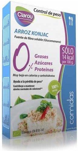 ARROZ KONJAC 270G CLAROU: Amazon.es: Salud y cuidado personal