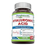 Pure Naturals Hyaluronic Acid, 100 mg, 120 Capsules