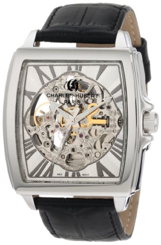 (Charles-Hubert, Paris Men's 3888-B Premium Collection Stainless Steel Automatic Watch)