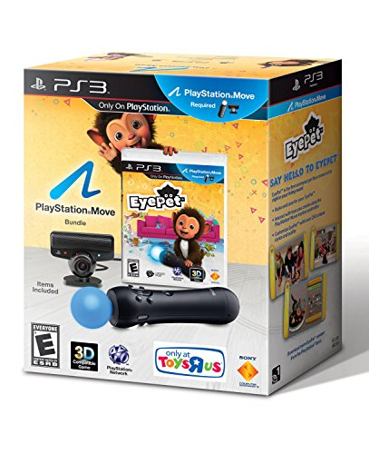 Sony PlayStation 3 EyePet Move Bundle with Eye Camera and...