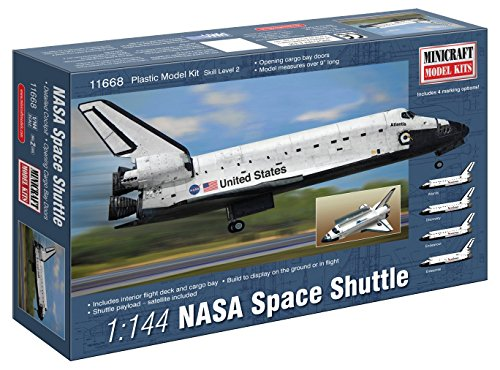 Minicraft NASA Shuttle Building Kit, 1/144 Scale ()