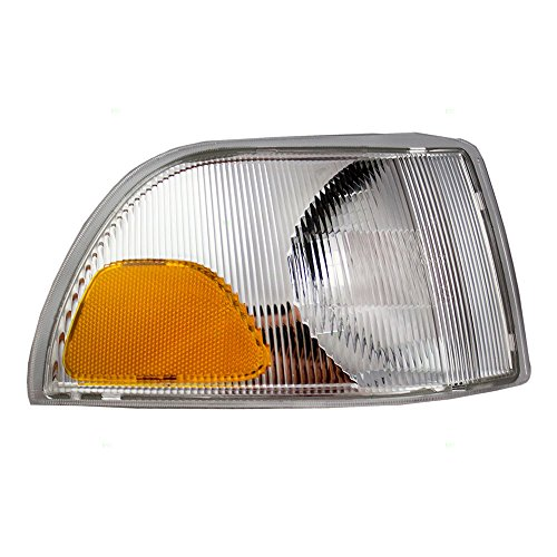 Passengers Park Signal Corner Marker Light Lamp Lens Replacement for Volvo 9483185-6