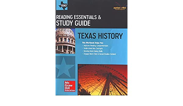 Texas History Reading Essentials Study Guide Student