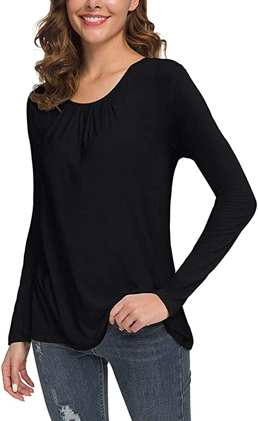 Meikosks Womens Off Shoulder Tops Flare Sleeve Knitted T Shirt Solid Blouses Fashion Tunic